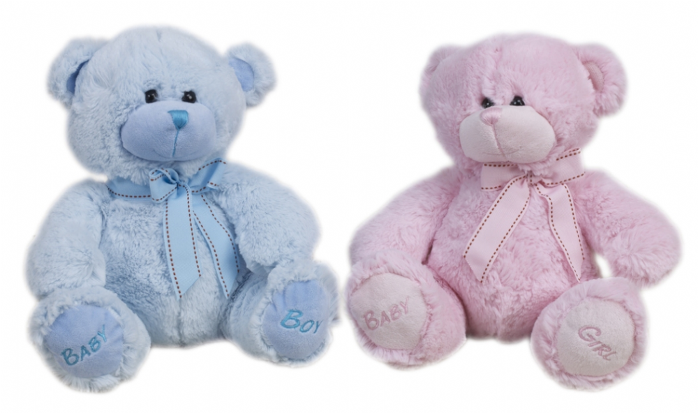 28cm  Baby Boy and Girl Bear